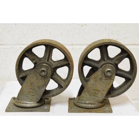 #22607 Industrial Metal Cart Casters image 5
