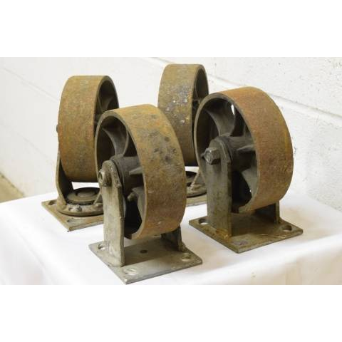 #22624 Metal Industrial Cart Casters image 3