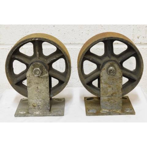 #22624 Metal Industrial Cart Casters image 4