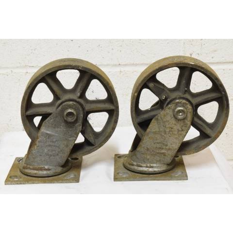 #22624 Metal Industrial Cart Casters image 5