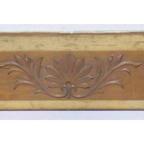 #22769 Wood Panel with Applied Carving image 2