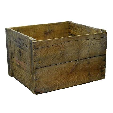 #22785 Old Owens Wood Crate image 1