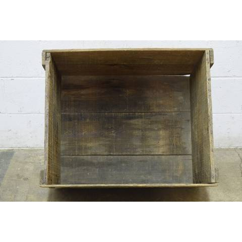 #22785 Old Owens Wood Crate image 5