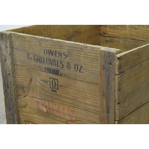 #22785 Old Owens Wood Crate image 6