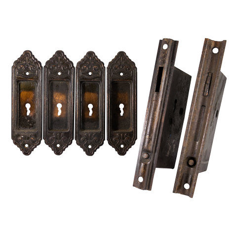 #22860 Pocket Door Hardware Set image 1