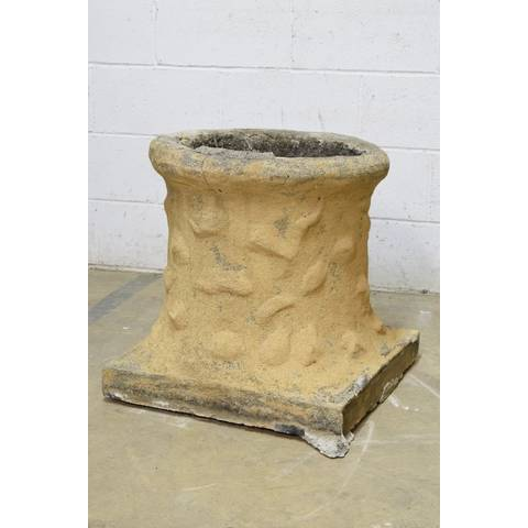 #22969 Salvaged Concrete Chimney Pot image 3