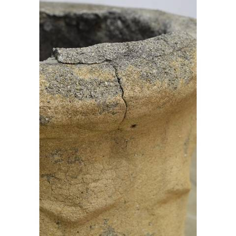 #22969 Salvaged Concrete Chimney Pot image 6