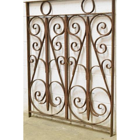#23006 Salvaged Wrought Iron Panel image 3