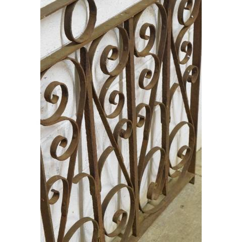 #23006 Salvaged Wrought Iron Panel image 6