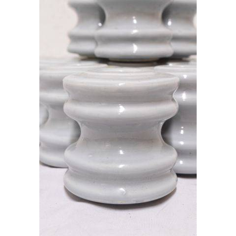 "#23719 3"" Blue Porcelain Insulator image 2"