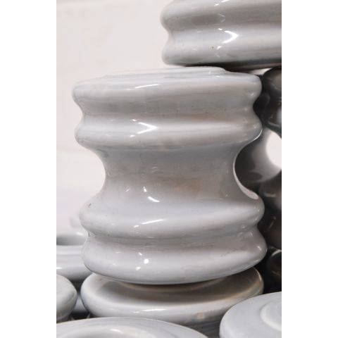 "#23719 3"" Blue Porcelain Insulator image 3"