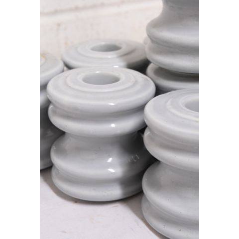 "#23719 3"" Blue Porcelain Insulator image 4"