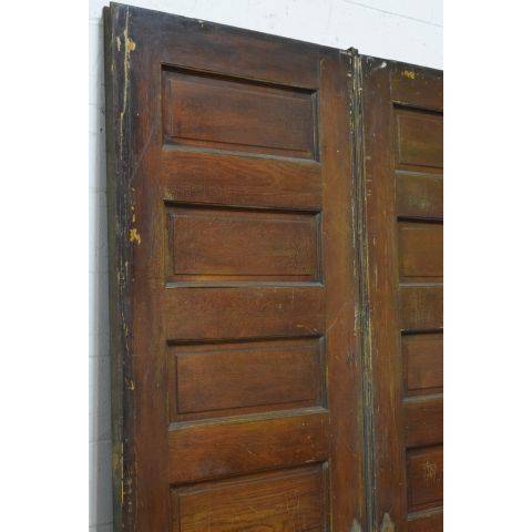 #23795 Salvaged Oak Pocket Doors image 2