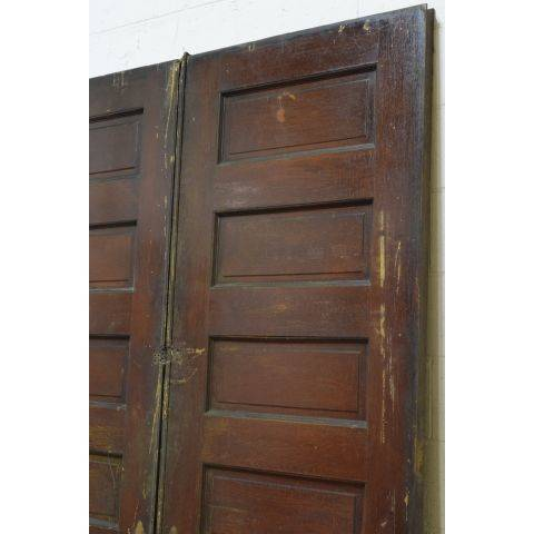 #23795 Salvaged Oak Pocket Doors image 6