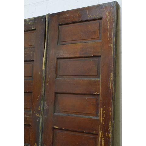 #23796 Salvaged Oak Pocket Doors image 3