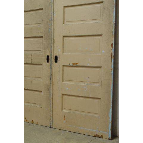 #23796 Salvaged Oak Pocket Doors image 6