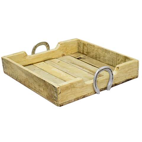 #24251 Reclaimed Wood Tray image 1