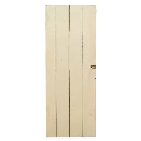 #25194 Salvaged Wood Slat Door image 1