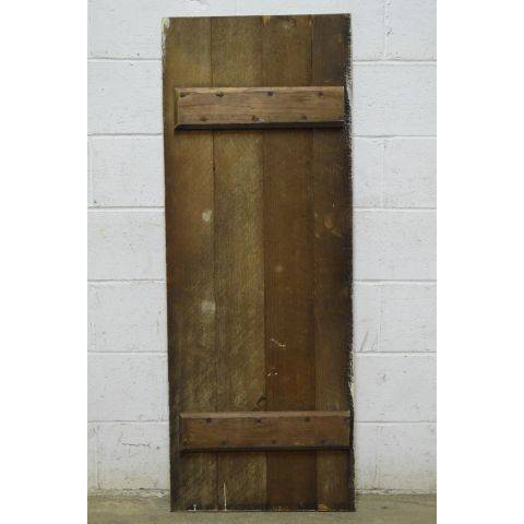 #25194 Salvaged Wood Slat Door image 4