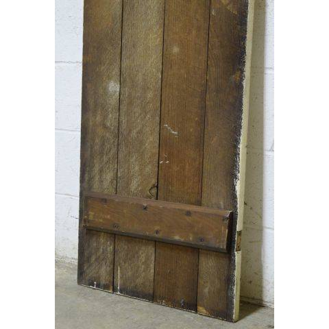 #25194 Salvaged Wood Slat Door image 5