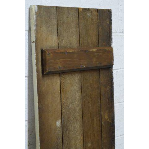 #25194 Salvaged Wood Slat Door image 6