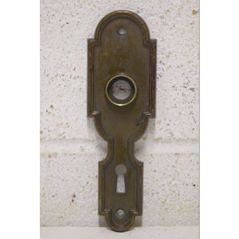 #25483 Salvaged Doorknob Backplate image 1