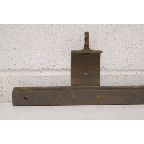 #25967 Salvaged Pocket Door Track image 2