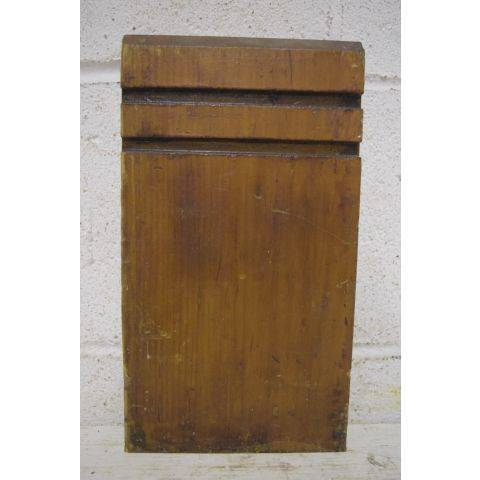 #26439 Salvaged Wood Plinth Block image 1