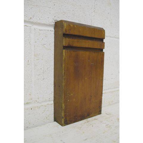 #26439 Salvaged Wood Plinth Block image 2