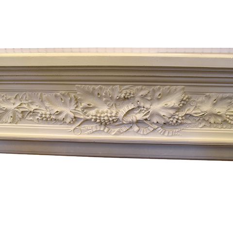 #26462 Salvaged Cast Fireplace Mantel image 3