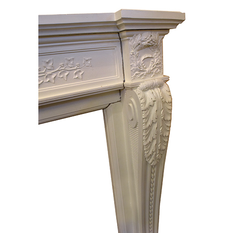 #26462 Salvaged Cast Fireplace Mantel image 4
