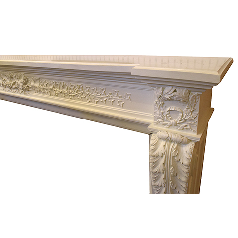 #26462 Salvaged Cast Fireplace Mantel image 5