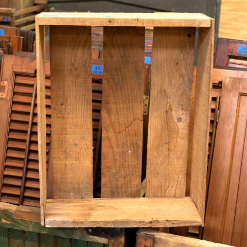 #26882 Antique Wood Squash Crate image 5