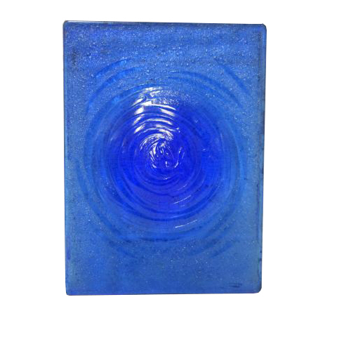 #27170 Blue Glass Rondel Pane image 1