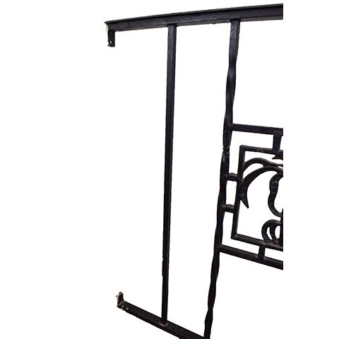 #27402 Salvaged Wrought Iron Handrail image 3
