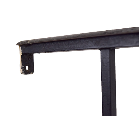 #27402 Salvaged Wrought Iron Handrail image 5