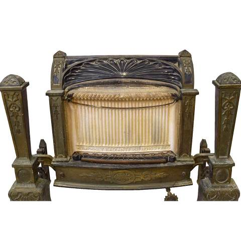 #28476 Antique Gas Fireplace Insert image 3