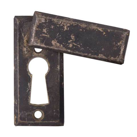 #28489 Keyhole Escutcheon with Cover image 1