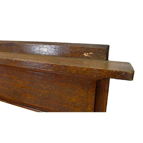 #28649 Salvaged Wood Fireplace Mantel image 5
