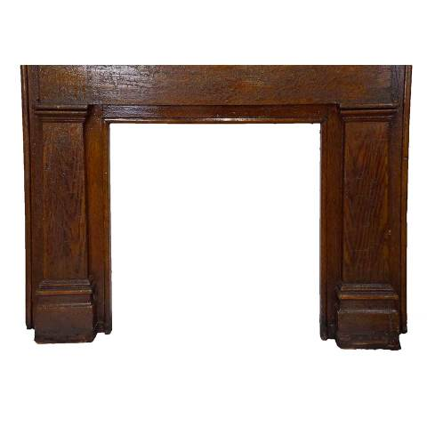#28649 Salvaged Wood Fireplace Mantel image 6