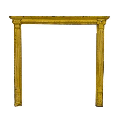 #29460 Cast Metal Fireplace Surround image 1