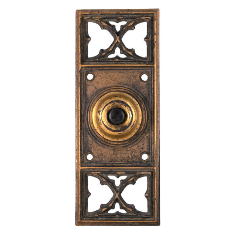 #29518 Antique Russell Erwin Doorbell Hardware image 1