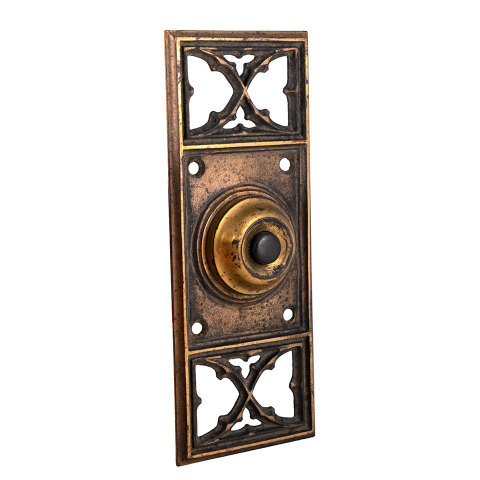 #29518 Antique Russell Erwin Doorbell Hardware image 2