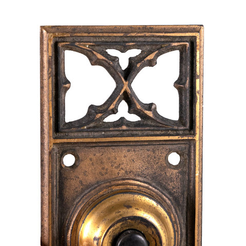 #29518 Antique Russell Erwin Doorbell Hardware image 3