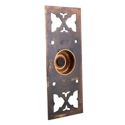 #29518 Antique Russell Erwin Doorbell Hardware image 4