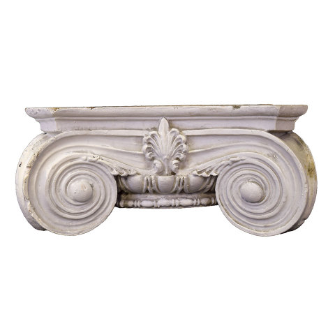 #29897 Plaster Ionic Column Capital image 1