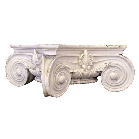 #29897 Plaster Ionic Column Capital image 2