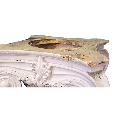 #29897 Plaster Ionic Column Capital image 4