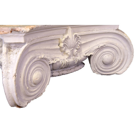 #29897 Plaster Ionic Column Capital image 5