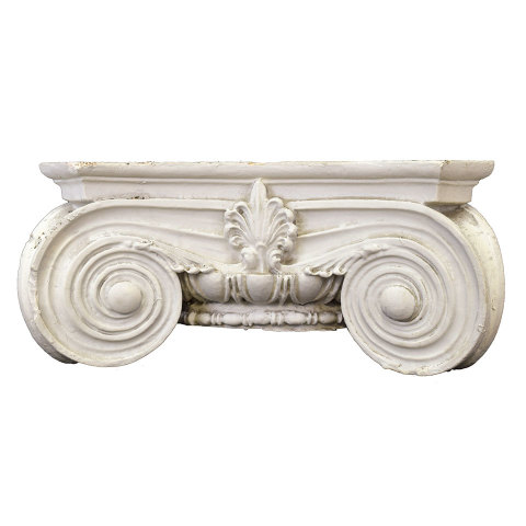 #29989 Plaster Ionic Column Capital image 1